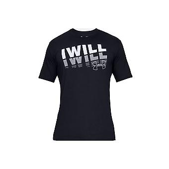 Under Armour I Will 20 Short Sleeve Tee 1329587001 universal all year men t-shirt