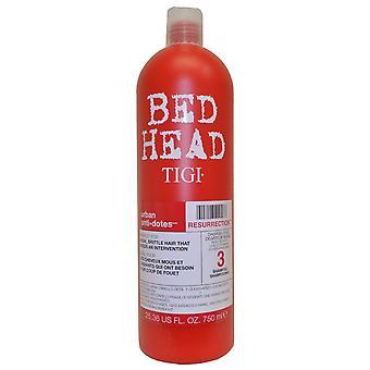 TIGI Bedhead urbano Anti + babea resurrección champú 750ml (nivel 3 de daño)