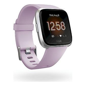 fitbit - Smartwatch - Versa Lite - Lilac-Silver Aluminum - FB415SRLV