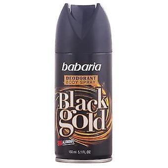 Babaria Musta Kulta Deodorantti Vapo 150 ml