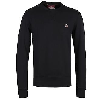 Parajumpers Caleb Black Crew Neck Sweatshirt