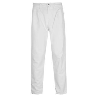 Edwin Blade Denim White Garment Dyed Balder Pants
