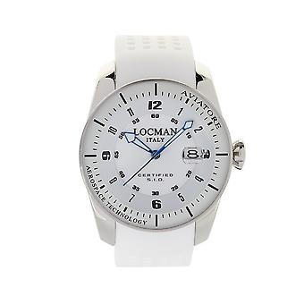 Locman - Wristwatch - Men - AVIATORE - 0453V03-00WHSIW