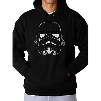 Star Wars Adults Unisex Adults Trooper Head Design Hooded Sweatshirt