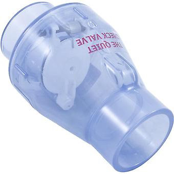 "Magic 0821-20MC 2"" Slip Smart Check Valve with Magnet Clear"