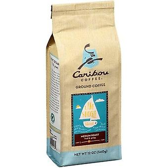 Caribou Coffee Lake Shore Blend Medium Roast Ground Coffee