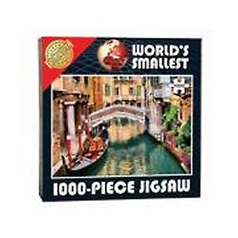 World's Smallest 1000 Piece Jigsaw - Venetian Canals (1000 Piece)