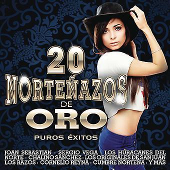 Various Artist - 20 Nortenazos De Oro [CD] USA import