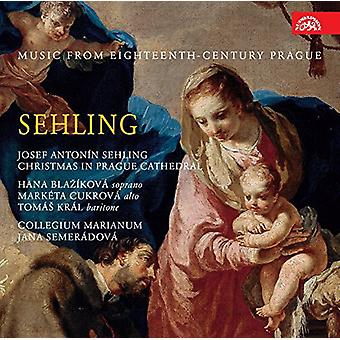 Sehling / Fux / Semeradova - Christmas in Prague Cathedral-Music From the 18th [CD] USA import