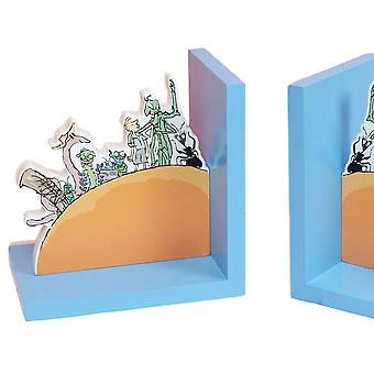 Roald Dahl James and the Giant Peach Bookends