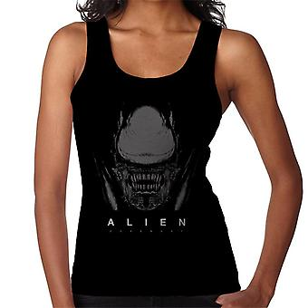 Alien Covenant Xenomorph Face Women's Chaleco