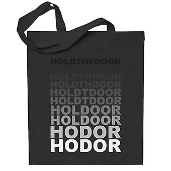 Hodor Hold The Door Fade Game Of Thrones Totebag