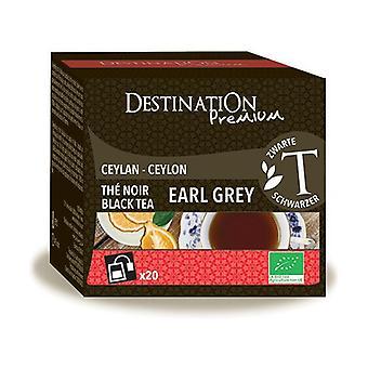 Earl Gray Ceylon Black Tea 20 unità di 2g