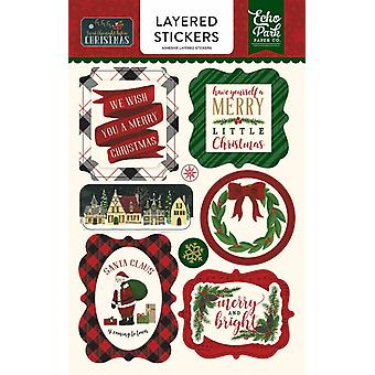 Echo Park 'Twas The Night Before Christmas Layered Stickers