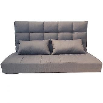 Rebecca Furniture Sofa Bed From Earth Grey Polyester Lounge 71x129x70/180