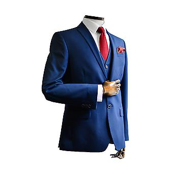 Sapphire Blue Twill Suit Jacket