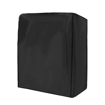 Black garden furniture cover, Oxford cloth waterproof and dustproof swing locker protective cover