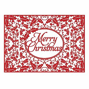 First Edition Christmas Craft a Card Die - Merry Christmas