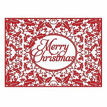 Première édition Christmas Craft a Card Die - Joyeux Noël