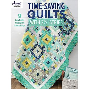 TimeSaving Quilts with 2 12 Strips by Quilting & Annies