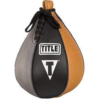 Title Boxing Genuine Leather Super Speed Bag