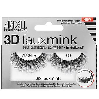 Ardell 3D Faux Nerz Multi Dimensional Wimpern - schwarz 853 - unsichtbare Band