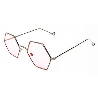 Sunglasses Unisex silver/pink (20-120A)
