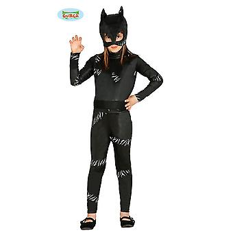 Guirca–Kostüm Black Kitty Katze Superhelden Katze Kinderkostüm