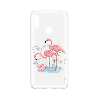Hull For Huawei Y6s Soft Flamingo Rose