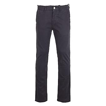 NN07 Marco 1400 Black Chino Trousers