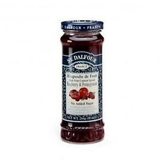 St Dalfour - Raspberry & Pom Fruit Spread 284g