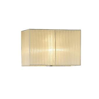 40 cm suorakulmio Organza kangas lampunvarjostin kerma