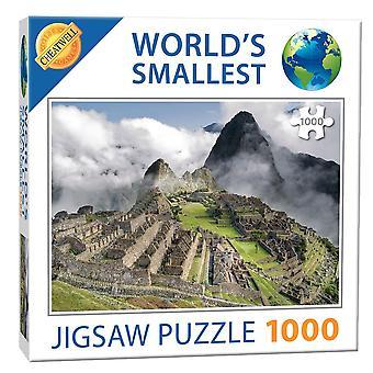 World's Smallest Jigsaw Puzzle - Machu Pichu (1000 Pieces)