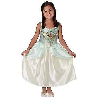 Virallinen Disney Princess Tiana Paljetit Klassinen Puku Puku - Medium