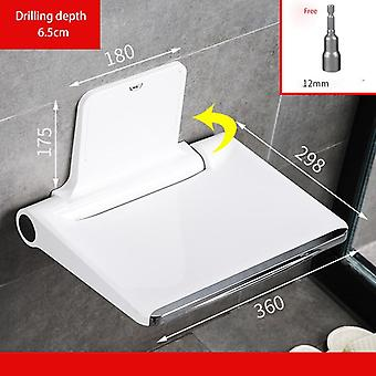 Shower Fittings Wetips Folding Chair For Bathroom  (a1)