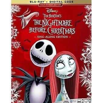 Nightmare Before Christmas [Blu-ray] USA import