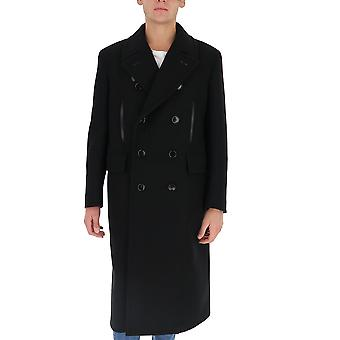 Tom Ford Bv048tfo863k09 Men's Black Wool Coat
