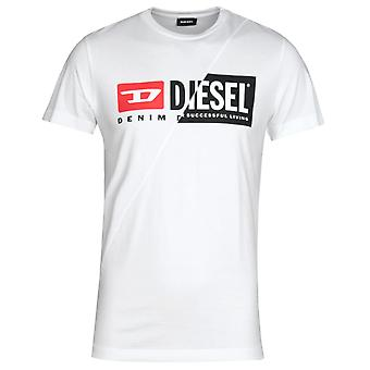 Diesel T-Diego Cuty Short Sleeve White T-shirt