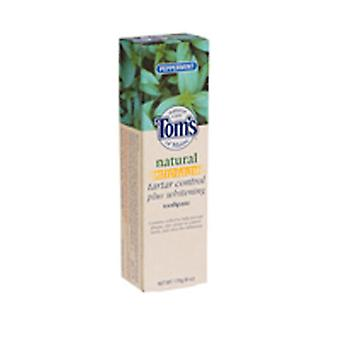 Tom's Of Maine Toms Of Maine Antiplaque And Whitening Natural Toothpaste, Peppermint 5.5 Oz