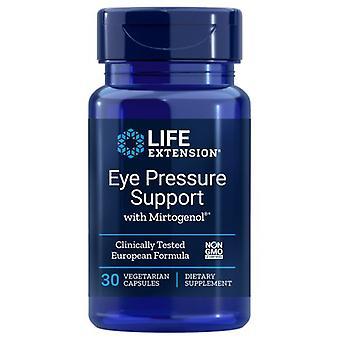 Suporte de pressão ocular de extensão de vida com Mirtogenol, 30 vcaps