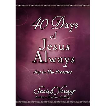 40 Days of Jesus Always by Young & Sarah