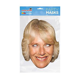 Mask-arade Duchess of Cornwall Celebrities Party Face Mask