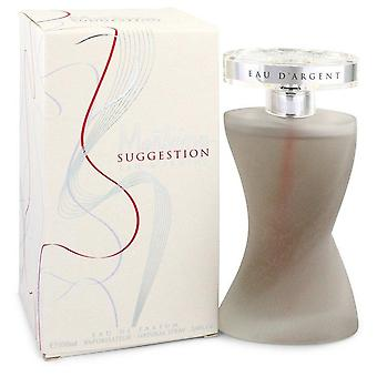 Montana Suggestion Eau D'argent Eau De Parfum Spray By Montana 3.4 oz Eau De Parfum Spray