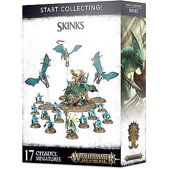 Spil Workshop - Alder sigmar: start indsamling! Skinks