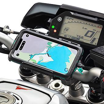 Iphone 11 pro max vedenpitävä tapauksessa moottoripyörä ohjaustanko asentaa