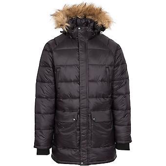 Trespass Mens Waldridgeton Padded Hooded Parka Coat Jacket