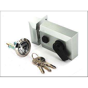 Securit Kapea Kaksinkertainen Lukko Yöpujottelu Hopea S1733