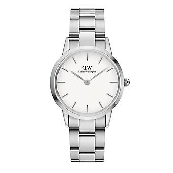 Daniel Wellington DW00100205 Iconic Silver Tone Wristwatch