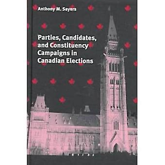 Kandidaten, partijen en campagnes bij de Canadese verkiezingen