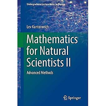 Mathematics for Natural Scientists II: Advanced Methods (Undergraduate Lecture Notes in Physics)